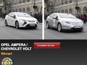 Voiture l'année Opel Ampera Chevrolet Volt