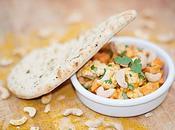 Cocotte chou-fleur patates douces l'indienne