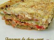 Lasagnes chou vert viande