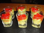 Rillettes crabe curry avocat poivrons