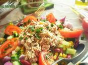 Salade mexicaine haricots rouges