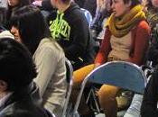 lycéens l'Arc Orange rencontre presse avec ELU.