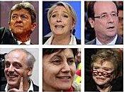 candidats l'élection présidentielle française avril 2012