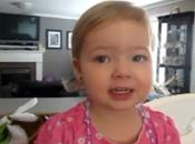 Buzz l'adorable fillette chante Adele