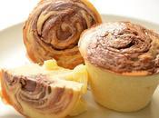 Moelleux Rhum Ananas tourbillon Nutella