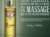huile anti-cellulite tonifiante Petit Marseillais