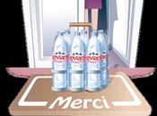Evian livre parisiens gratuitement domicile