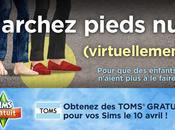 Sims GRATUIT iPhone soutiennent Journée sans chaussures...