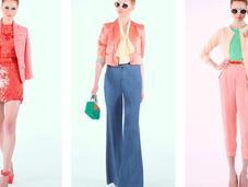 couleurs pastels, tendance printemps 2012