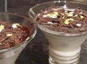 Fromage blanc rhum-raisins chocolat craquant