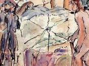 Quelques aquarellistes français disparus 20ème siècle Partie Auguste Gilbert Privat Alphonse Rey– Henri Rivière George-Frederic Rötig Paul Roux Jean-Marie Rückbusch René Vincent Jean-Jacques Waltz Handi Félix Ziem