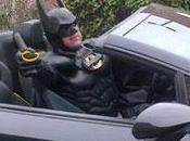 Quand Batman fait arrêter volant d'une Lamborghini