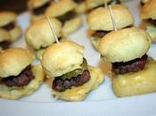 Mini hamburger boeuf