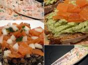 Tryptique saumon fumé