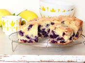 Blueberry cake Gâteau myrtilles
