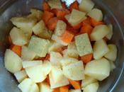 Soupe carottes lait coco