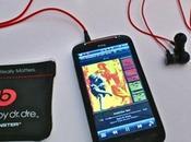 Smartphones avec earphones Beats, c'est fini