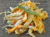 Petits poissons frits marinés 小魚の南蛮漬け