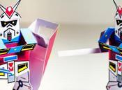 GUNPaper Gundam papertoy