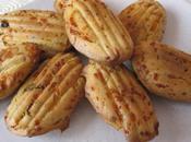 Madeleines oignon/lardons