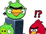 Android fausse version d'Angry Birds Space cache malware