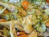 Tajine poulet legumes epices