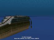 Retrouvez Titanic Google Earth!