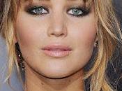 Makeup inspiration Jennifer Lawrence première film Hunger Games