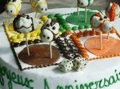 Gâteau d'anniversaire Petits Chevaux