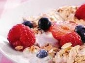 Muesli lait fermenté fruits rouges