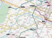 Sublyn plan métro Paris connecté Twitter