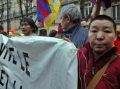 Manifestation Paris contre répression chinoise Tibet