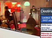 Salon Livre Paris 2008 Ecouter ligne entretiens Lecteur Studio SNCF