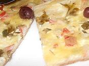 Pizza Blanche (garniture yaourt nature)