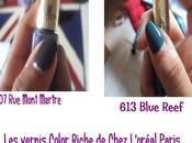 Avis Revue Vernis Color Riche chez L'Oréal Paris