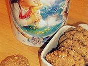 Biscuits complets croustillants flocons d'avoine