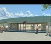 découverte futur centre commercial Boisvallon Intermarché Ceyrat