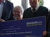 Aéroport Béziers/Cap d'Agde passagers transportés Ryanair
