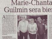 L'auteure Marie-Chantal Guilmin obtient article presse dans quotidien Dépêche Midi, France