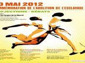 2012 Commémoration l'abolition l'esclavage.