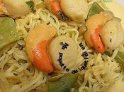Nouilles chinoises jacques haricots plats