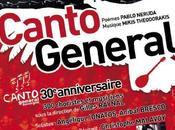 Canto general, Neruda/Theodorakis, Zénith d'Auvergne, juin 2012