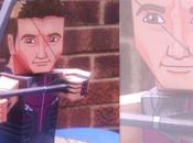 Papertoy Hawkeye (Avengers 2012)