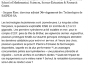 RENCONTRES COLAS/LA RECHERCHE AVENIR ENERGIES MARINES (F.DIAS/J/RUER prudence illusions...!
