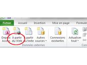 Comment utiliser données Internet avec Excel