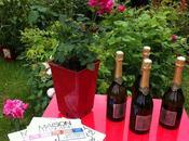 joli baptême rose, rose Maison Française officiellement née.