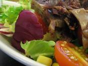Salade gésiers canard