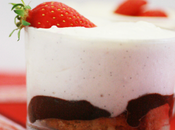 Tiramisu fraise, vanille chocolat