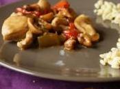 Poulet noix Cajou