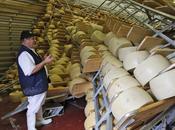 séisme détruit pour millions meules parmesan